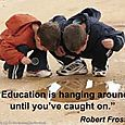 Education_is_hanging_around